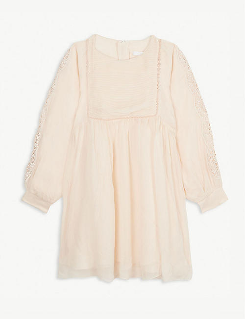 CHLOE Pleated dress 6-14 years