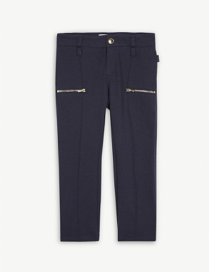 CHLOE Zip detail trousers 4-14 years