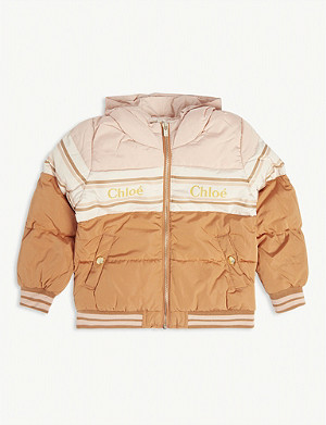CHLOE Insulated padded puffer jacket 4-14 years