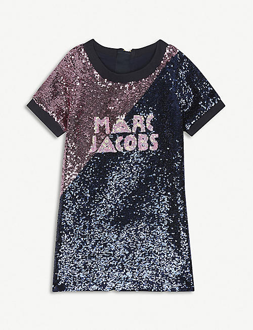 LITTLE MARC Sequin T-shirt dress 4-14 years