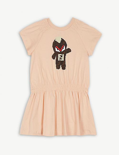 54a7fd06a21 FENDI Jersey dress 4-14 years