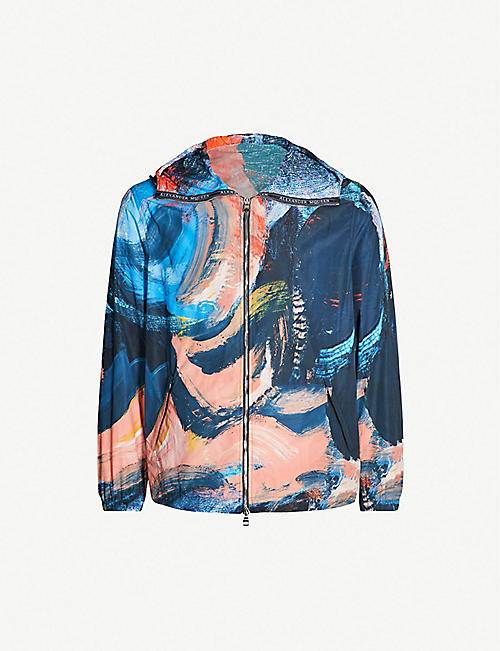 18e68d8c695e ALEXANDER MCQUEEN Painters Canvas shell hooded jacket
