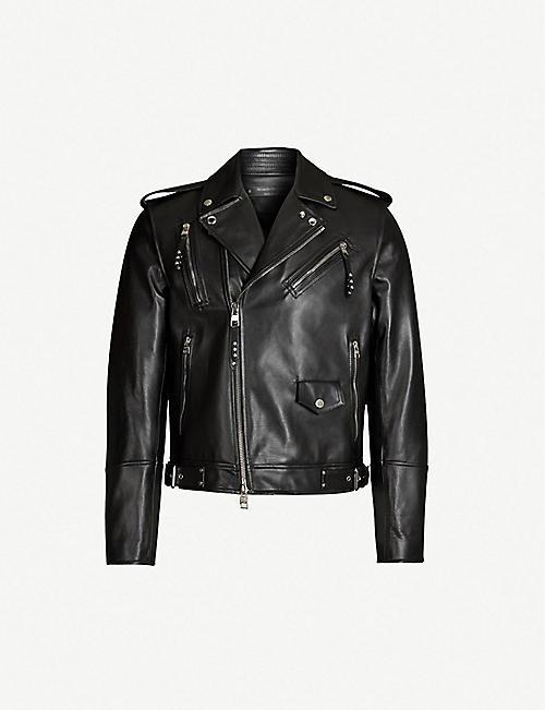 440ffe02312 Leather jackets - Coats   jackets - Clothing - Mens - Selfridges ...