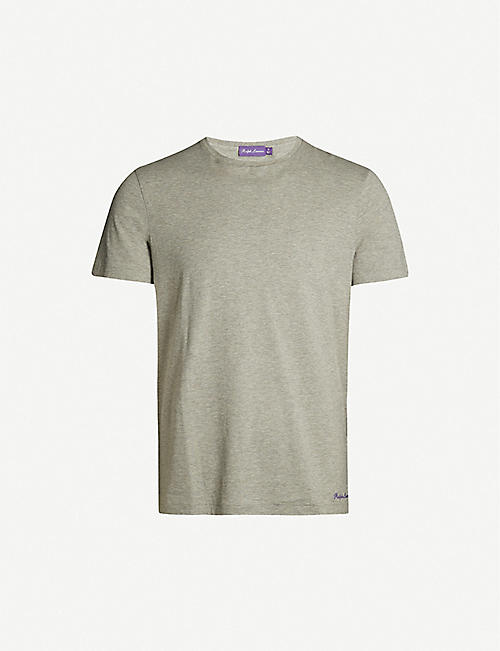 RALPH LAUREN PURPLE LABEL Crewneck cotton-jersey T-shirt