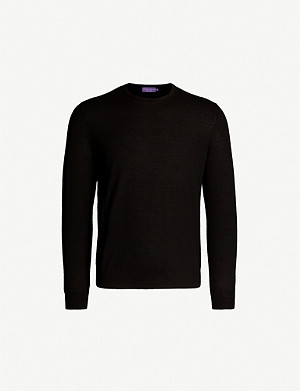 RALPH LAUREN PURPLE LABEL Fine-knit cashmere jumper