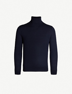 RALPH LAUREN PURPLE LABEL Turtleneck cashmere jumper