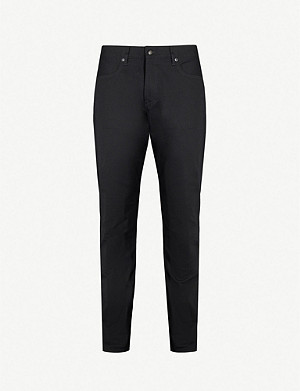 RALPH LAUREN PURPLE LABEL Relaxed-fit straight jeans