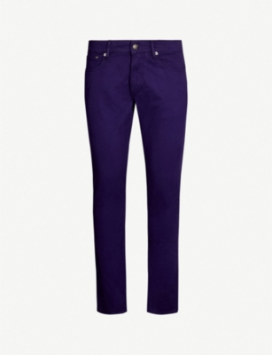 RALPH LAUREN PURPLE LABEL Slim-fit straight jeans
