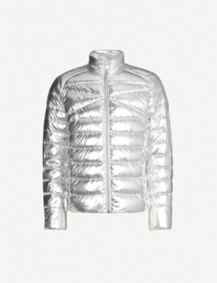 RALPH LAUREN PURPLE LABEL RLX lightweight foil puffer jacket