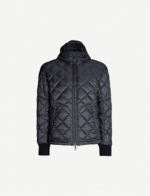 RALPH LAUREN PURPLE LABEL Rouen quilted shell jacket