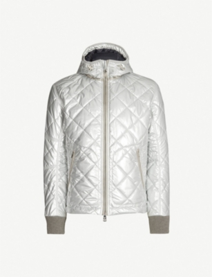 RALPH LAUREN PURPLE LABEL RLX quilted metallic jacket
