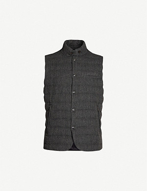 RALPH LAUREN PURPLE LABEL Whitwell wool-blend gilet