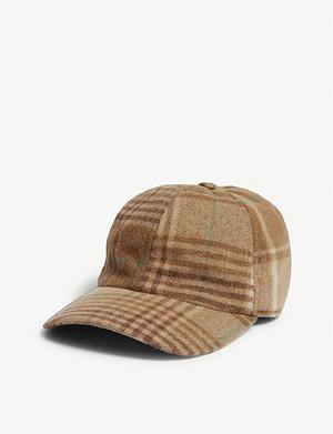 d81738d3c1 RALPH LAUREN PURPLE LABEL - Polo bear wool-blend baseball cap ...
