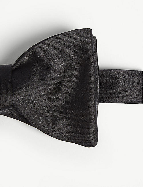 RALPH LAUREN PURPLE LABEL Silk bow tie