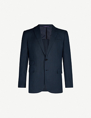 RALPH LAUREN PURPLE LABEL Gregory regular-fit linen blazer