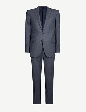 RALPH LAUREN PURPLE LABEL Single-breasted regular-fit wool-blend suit