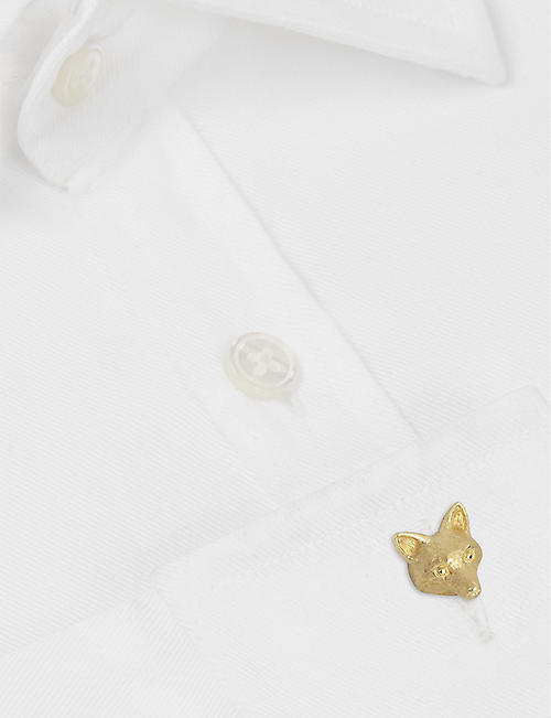 LANVIN Fox cufflinks