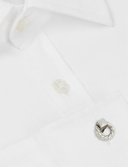 LANVIN Double-end rope cufflinks