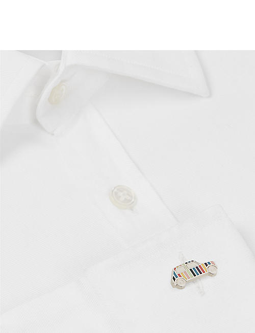 PAUL SMITH Stripe car cufflinks