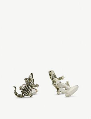 PAUL SMITH Crocodile cufflinks