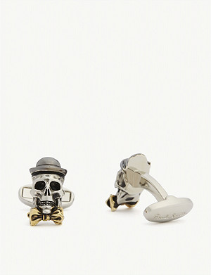 PAUL SMITH Smart skull cufflinks