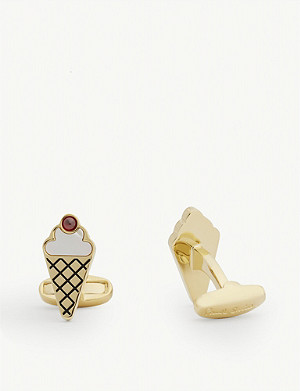 PAUL SMITH Ice cream cufflinks