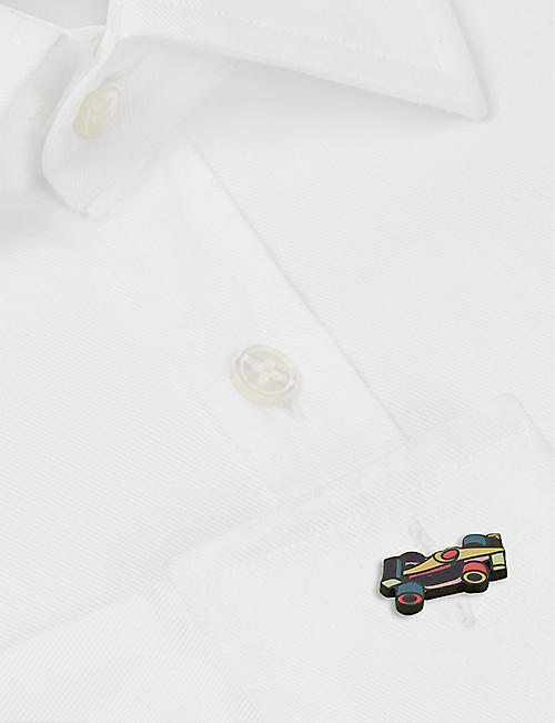 PAUL SMITH Racing car cufflinks
