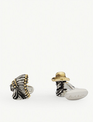 PAUL SMITH Wild West cufflinks