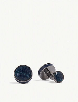 TATEOSSIAN Vertigo Ice cufflinks