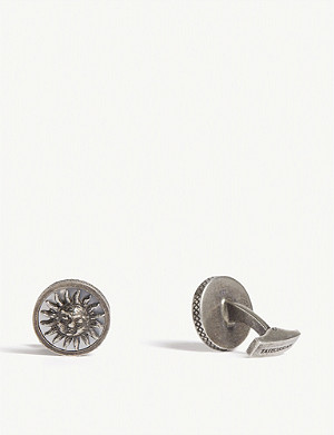 TATEOSSIAN Sun and Moon Silver Cufflinks