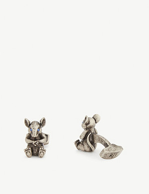 TATEOSSIAN Rat cufflinks