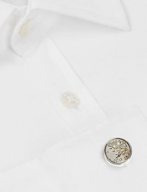 TATEOSSIAN Mechanical Skeleton Movement cufflinks