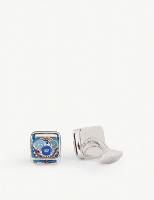 TATEOSSIAN Multi-coloured gear cufflinks