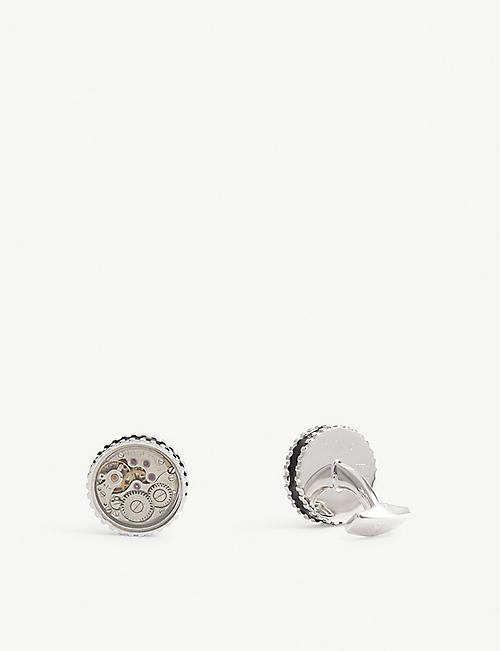 TATEOSSIAN Vintage Gear watch cufflinks