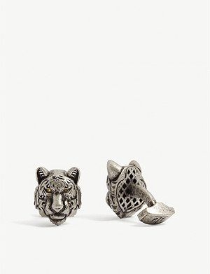 TATEOSSIAN Mechanical Tiger cufflinks