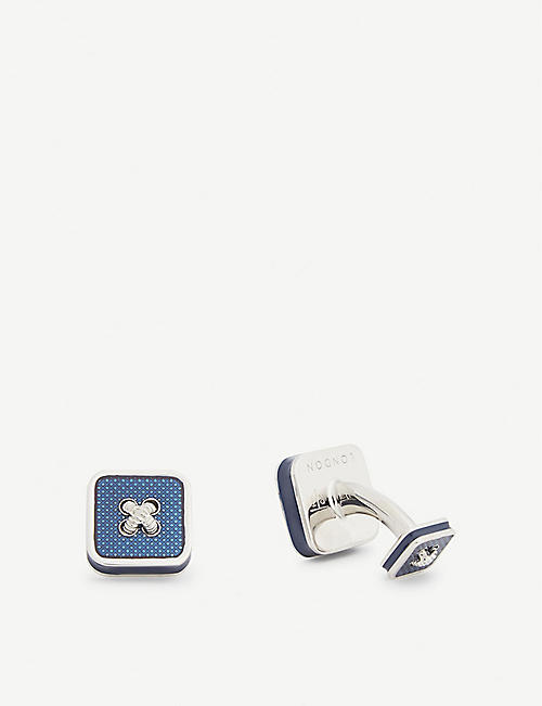 TATEOSSIAN Double-End square cufflinks