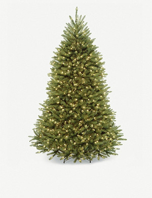 CHRISTMAS Prelit faux Christmas tree 8ft