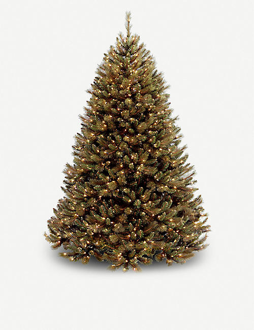 CHRISTMAS Rocky Ridge lit Christmas tree 6ft