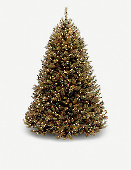 CHRISTMAS Rocky Ridge lit Christmas tree 7.5ft