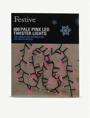FESTIVE Twister LED lights string of 400