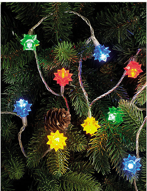 FESTIVE 100 multicolour LED flower lights