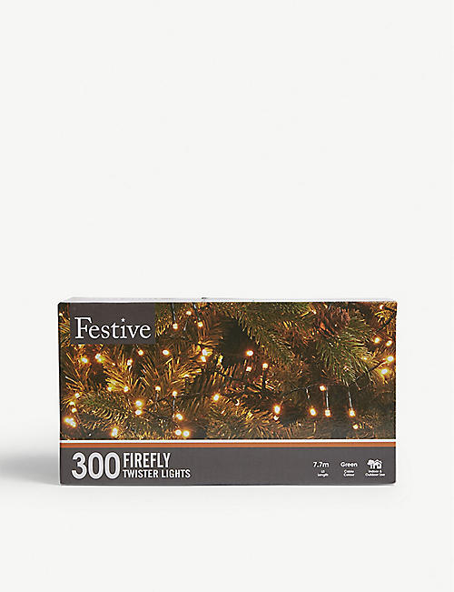FESTIVE 300 firefly twister lights