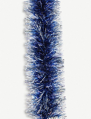 FESTIVE Metallic tinsel 2m