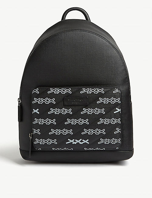 Z ZEGNA Couture XXX leather backpack