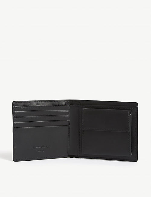 ERMENEGILDO ZEGNA Couture logo-printed canvas billfold wallet