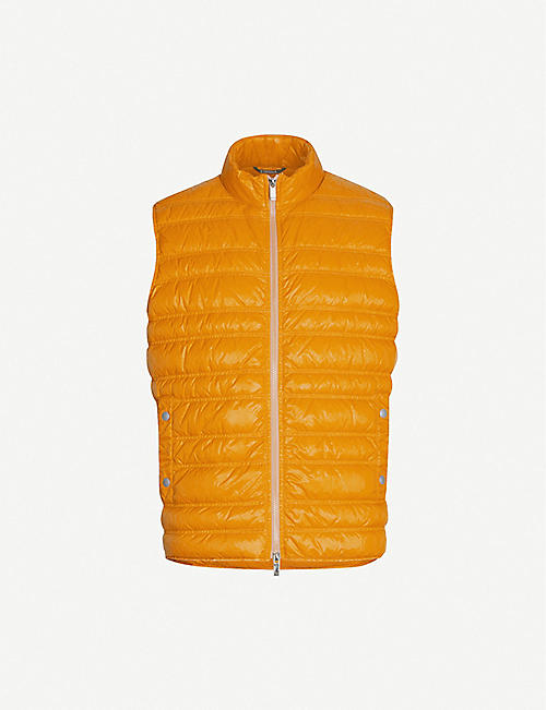 Z ZEGNA Sleeveless regular-fit shell-down gilet