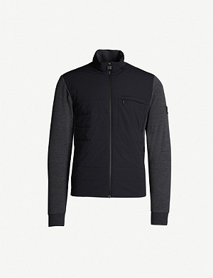 Z ZEGNA Techmerino hybrid wool-blend fleece jacket