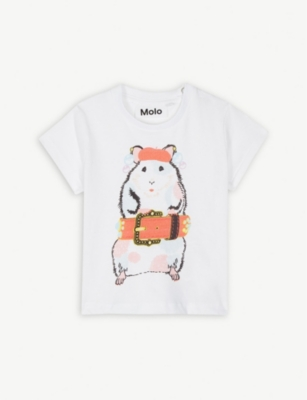 MOLO Erica hamster cotton T-shirt 6-24 months
