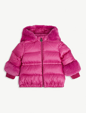 MONCLER Atlantique padded shell jacket 3 months-3 years