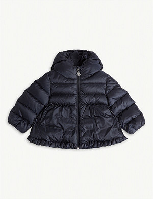 MONCLER Odile quilted puffer jacket 6-36 months
